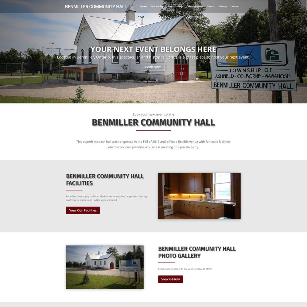 Benmiller Community Hall