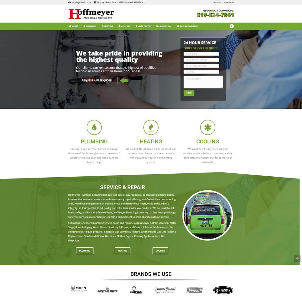 Hoffmeyer Plumbing & Heating Ltd. Goderich