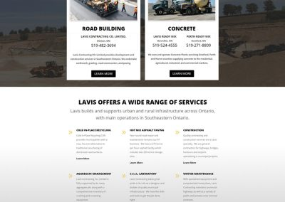 Lavis Contracting Co Ltd