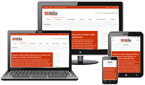 Goderich Web Design - Mobile Web Design